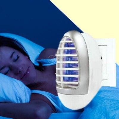 Електрически уред против комари и насекоми с нощна лампа