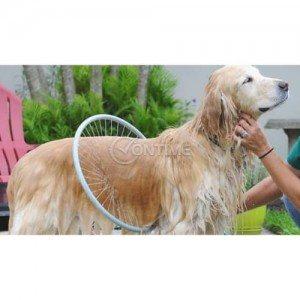 Душ 360 градусов за кучета с диспенсър за шампоан