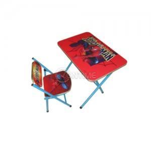 Детска маса и столче Spider Man