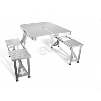 Къмпинг маса сгъваема с пейки за четири човека