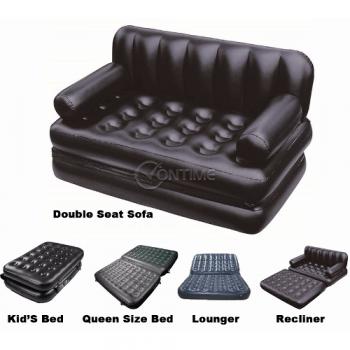 Надуваем диван Airo Sofa с помпа