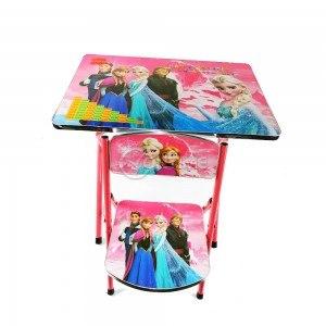 Сгъваема детска маса със столче Frozen