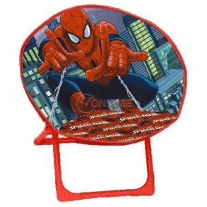 Детски стол тип шезлонг с дизайн на Spiderman