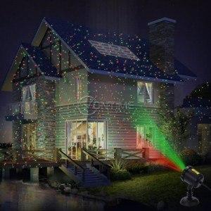 Laser LIght лазер прожектор за коледна украса - играещи светлини