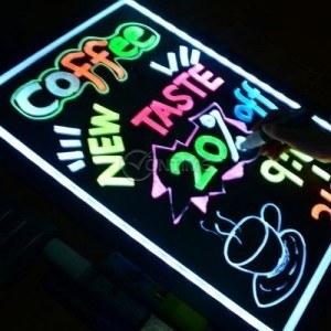 Рекламно табло с LED осветление и размер 60 х 80 см.