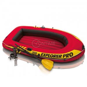 Надуваема лодка триместна INTEX EXPLORER 300