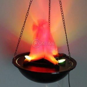 Лампа пламък за декорация и осветление