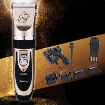 Професионана машинка за подстригване на кучета с керамичен нож и акумулаторна батерия Baorun P2