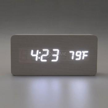 Дигитален часовник с термометър и аларма
