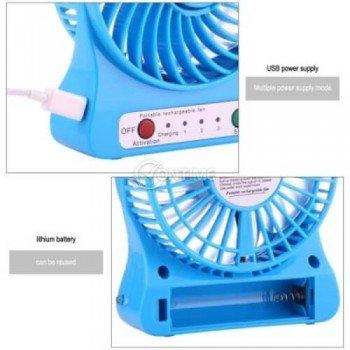 USB охладител с огромна мощност вградена LED touch лампа и акумулаторна батерия