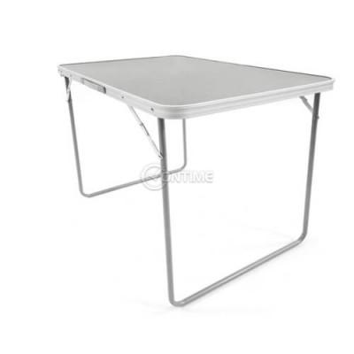 Къмпинг маса сгъваема 50/70 см плот и алуминиева конструкция