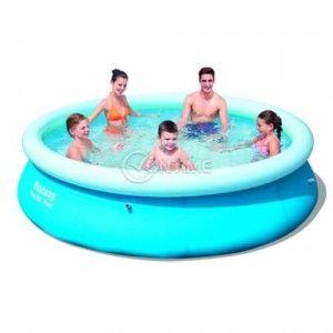 Bestway надуваем басейн за цялото семейство кръгъл 3.05 м, х 66 см
