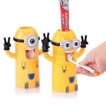 Автоматичен диспенсър за паста за зъби Миньоните