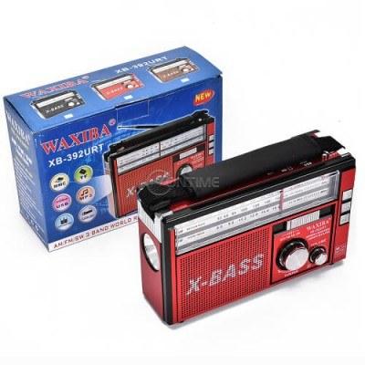 Преносимо радио възпроизвежда музика от USB и Micro SD карта