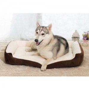 Легло за кучета с размери 75 х 55 см.