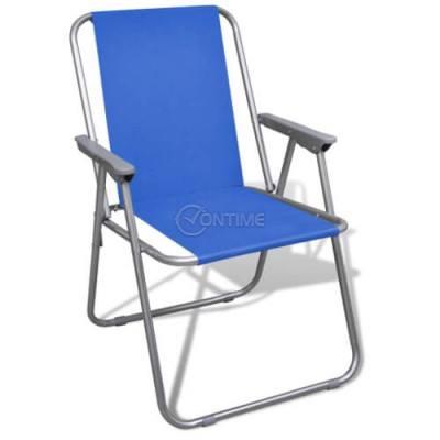 Къмпинг стол в различни цветове много компактен и лек