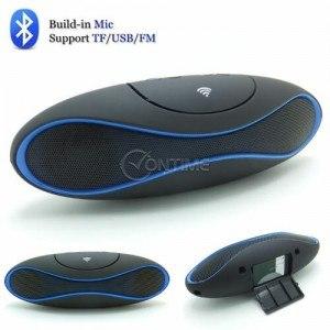 Безжична блутут колонка с радио USB SD карта AUX изход