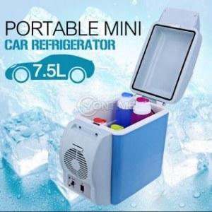Хладилна чанта 7,5 литра за кола опция охлаждане и затопляне