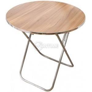 Сгъваема маса с ламиниран плот