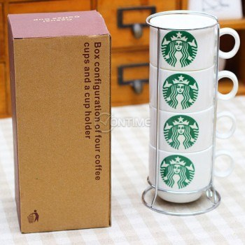 Комплект чаши за кафе Starbucks Coffee 4 броя