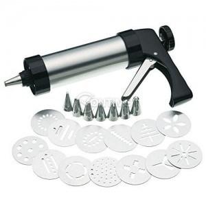 Преса за сладки шприц пистолет с различни форми