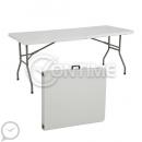 Сгъваема маса за кетъринг 240 x 75см