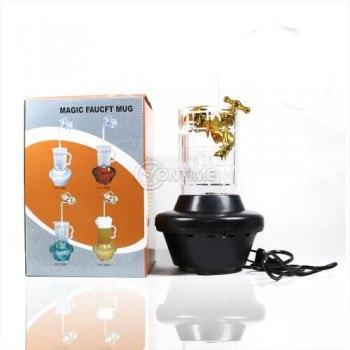 Декоративна лампа с форма на чаша с кран