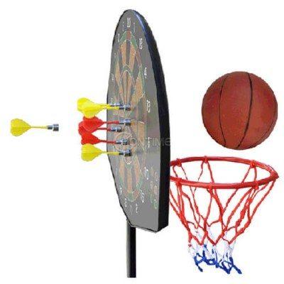 Баскетболен кош със стойка и дартс игра