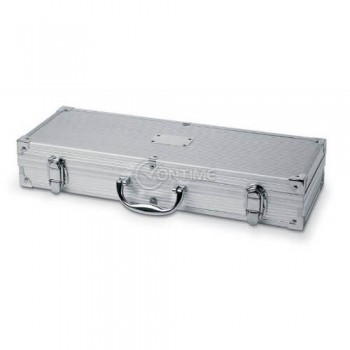 Комплект за барбекю в луксозен метален куфар