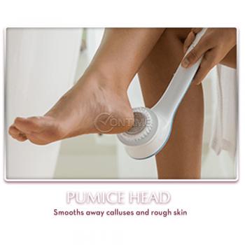 Масажираща четка за баня Spin Spa за почистване и релакс на цялото тяло