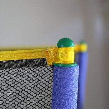 Детски батут за скачане с предпазна мрежа