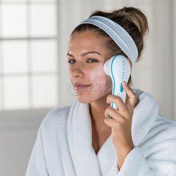Четка за почистване на кожата на лицето Spin Spa Face Brush