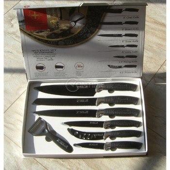 Красив комплект ножове от 7 части