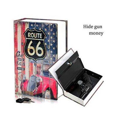 Сейф за пари Route 66 18/11/5.5 см.