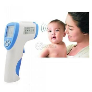 Инфрачервен безконтактен термометър за бебета