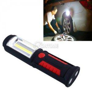 Портативна магнитна работна лампа с фенер