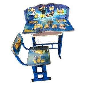 Бюро със стол Миньоните за деца от 3 до 10 години