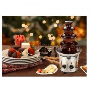 Шоколадов фонтан от неръждаема стомана и 40 см височина