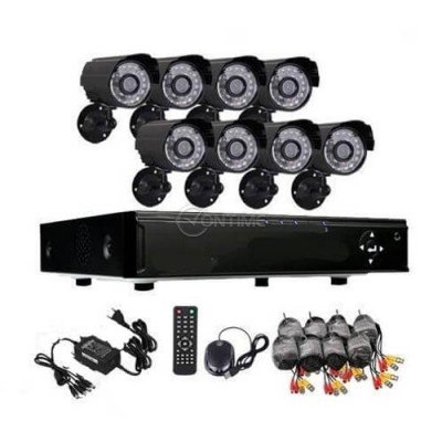 Система за видеонаблюдение с 8 камери