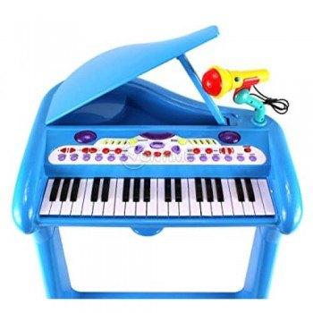Детско пиано със столче и микрофон