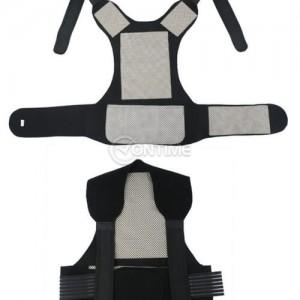 Турмалинов колан за кръста раменете и гърба при болки и схващания