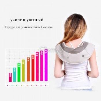 Масажор за врат рамене и гръб с точково ударна технология