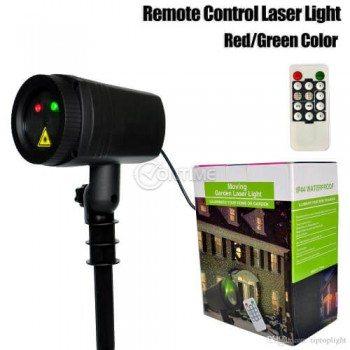 Лазер с дистанционно за коледна украса и декорация