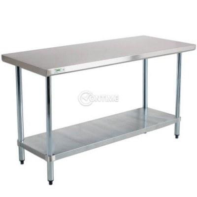 Помощна работна маса за кухня професионална 120 х 80 х 80 см.