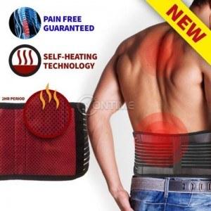 Турмалинов колан самозагряващ срещу болки в кръста и за изправяне на стойката