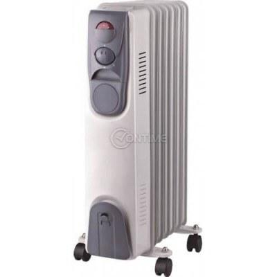 Радиатор за отопление с 7 ребра и вентилатор 1500W