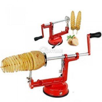 Резачка за картофи на спирала