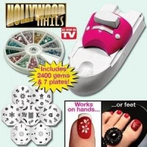 Комплект за маникюр декорация Hollywood Nails