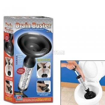 Помпа за отпушване на канали вакуумна Drain Buster