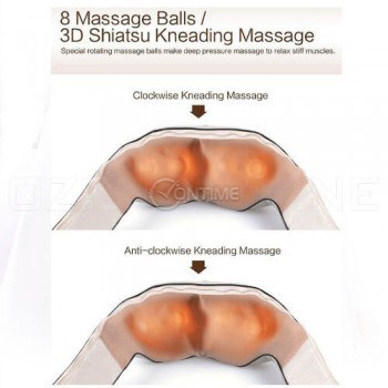 Шиацу масажор за цяло тяло